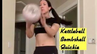 Kettlebell Bombshell Fast Kettlebell Workout