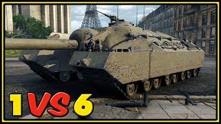 T95 - 11 Kills - 1 VS 6 - World of Tanks Gameplay
