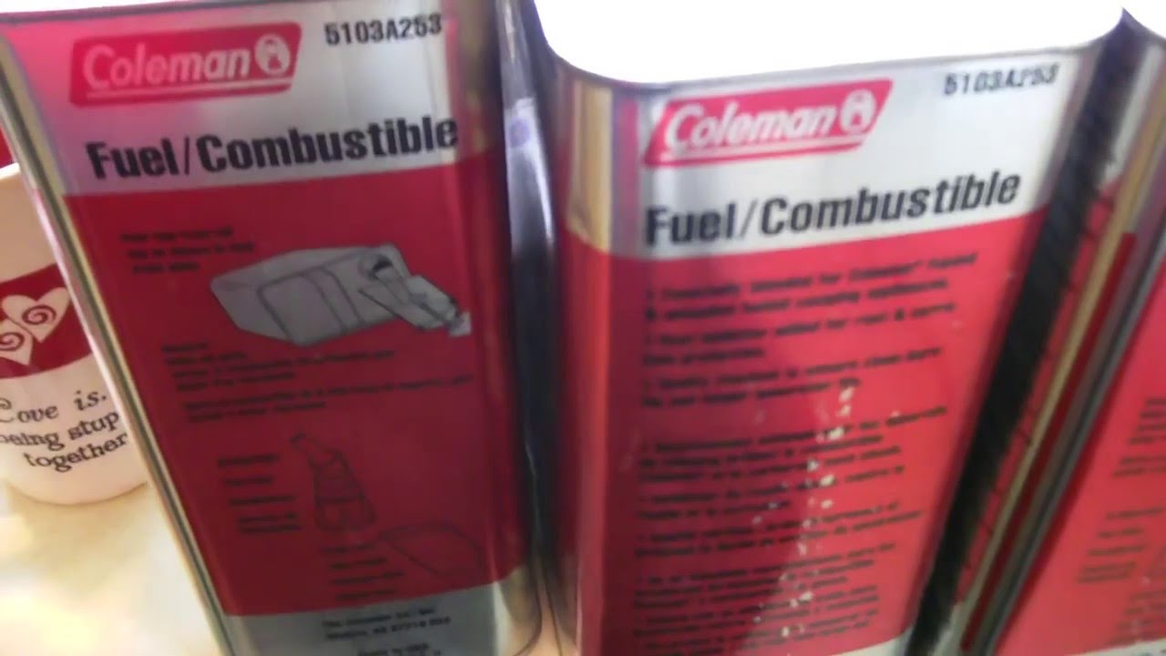Coleman Camp Fuel for Cheap!