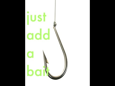 how to tie a hook line and sinker