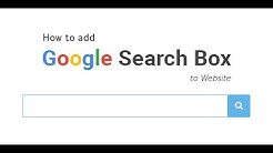 Add a Simple Google, Yahoo! or Bing Search Box to Your Website using HTML