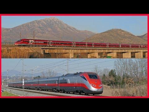[LINEA AV ROMA NAPOLI] Treni Alta Velocità in transito a 300 km/h tra Cassino e Caserta [2019-2020].