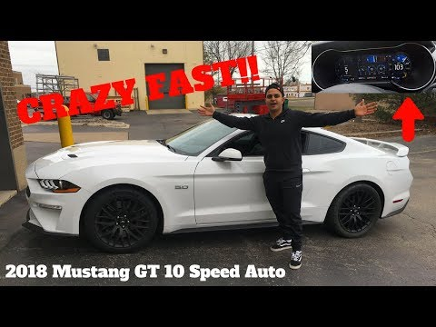 THE NEW 2018 MUSTANG GT IS NO JOKE!! **WOW**