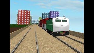 Treno di Natale Roblox RRR