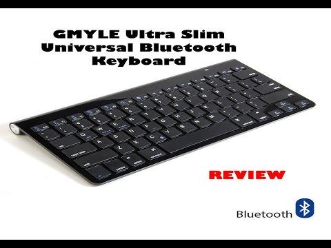 741c70fb47f GMYLE Ultra Slim Universal Bluetooth Keyboard Review - YouTube