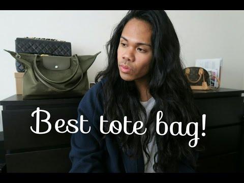 Best tote bag | Longchamp Le Pliage Neo in Khaki