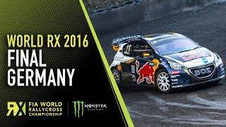 World RX Final | World Rallycross of Germany 2016