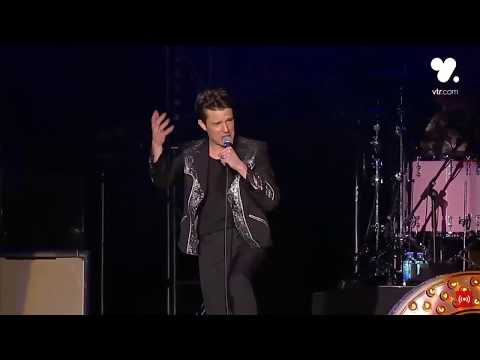 The Killers covering 'Wonderwall' by Oasis - Lollapalooza Chile 2018