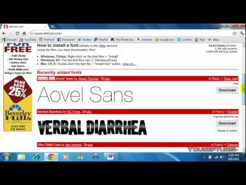How To Get Fonts For Free