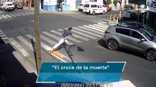 Las caídas en una ciclovía de Puebla han provocado risas en redes sociales, sin embargo, el este municipio es la entidad que más muertes por atropellamientos presenta en el país, de acuerdo con estadísticas.