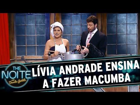 The Noite (09/09/15) - Lívia Andrade Ensina A Fazer Macumba Das 'braba'