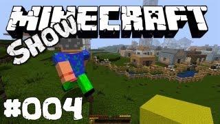 Die Minecraft Show #004 liebevolles Villager Dorf deutsch HD Let's Show