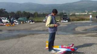 RC plane Seagull 40 low wing