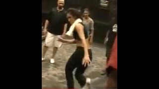 Mya and her tap dancers freestyling (Part 2)