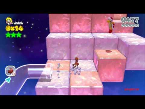Guia Super Mario 3D World 100% (5 estrellas) Final Los 5 sellos secretos