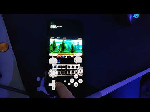 Shovel Knight running on the Xiaomi Mi 9 through Citra Android