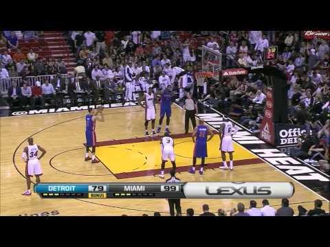 Chris 'Birdman' Andersen: Heat Debut Against The Pistons