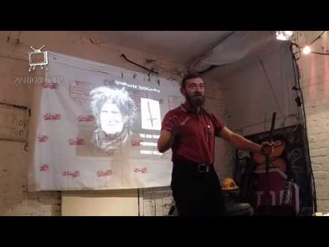 """""""The Red Dagger"""" by Heathcote Williams - Performance by Ciaran Walsh @ Coop Anti-War Cafe Berlin"""