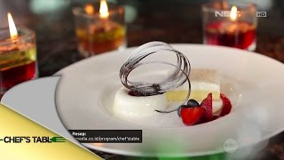 Coconut Raspberry And Panna Cotta - Putri Titian Dan Junior Liem - Chef's Table