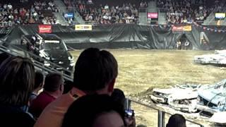 Monster truck in dodge city kansas