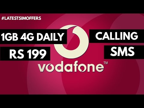 Vodafone Offer: 1GB internet daily 199Rs