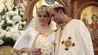 Repeat youtube video Egyptian Coptic Wedding Ceremony @ Holy Virgin Mary & St. Pishoy Coptic Orthodox Church