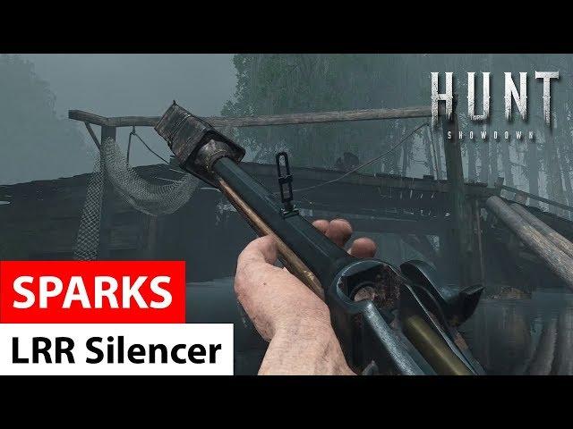 Sparks LRR Silencer   Hunt: Showdown