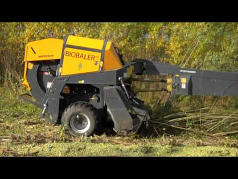 Anderson BioBaler willow harvester