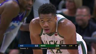 Milwaukee Bucks vs Utah Jazz | November 25 2019