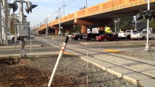 New Railroad Crossing Signals And Driveway Getting Installed On South Watt Ave (progress Report 2)