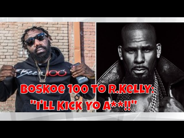 Boskoe 💯 Goes Off On R. Kelly, Wants A Boxing Match #Boskoe #RKelly #iglive