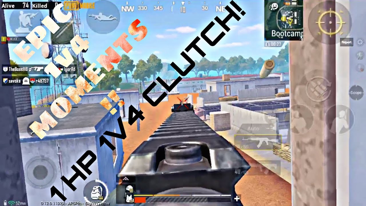 THIS GAMEPLAY WILL INSPIRE YOU! INSANE 1v4 CLUTCHES! PUBGM Helix