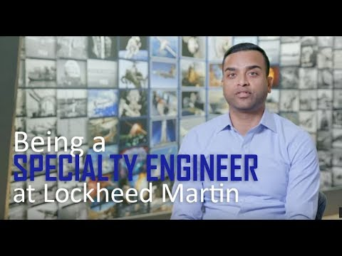 Being a Specialty Engineer Lead for Lockheed Martin