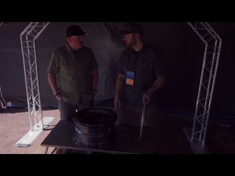 """Overland Roadshow"": American Expedition Vehicles Borah Wheel"