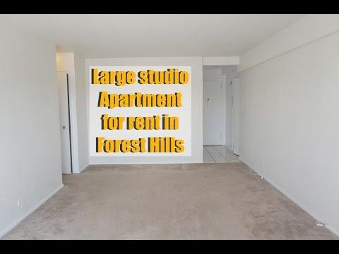 Studio apartment in doorman building for rent in Forest Hills, Queens, NY