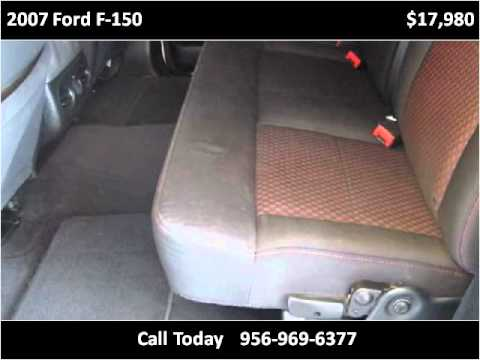 2007 Ford F 150 Used Cars Weslaco Tx Youtube