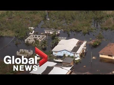 Grand Bahama island faces devastation after Hurricane Dorian tore through