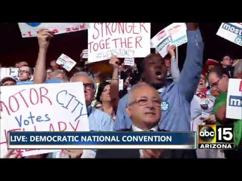 FULL: DNC Presidential Nominating Process... Plus Roll Call Vote of State - Sanders vs. Clinton