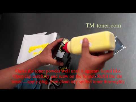 how to connect clp 670nd for network printer