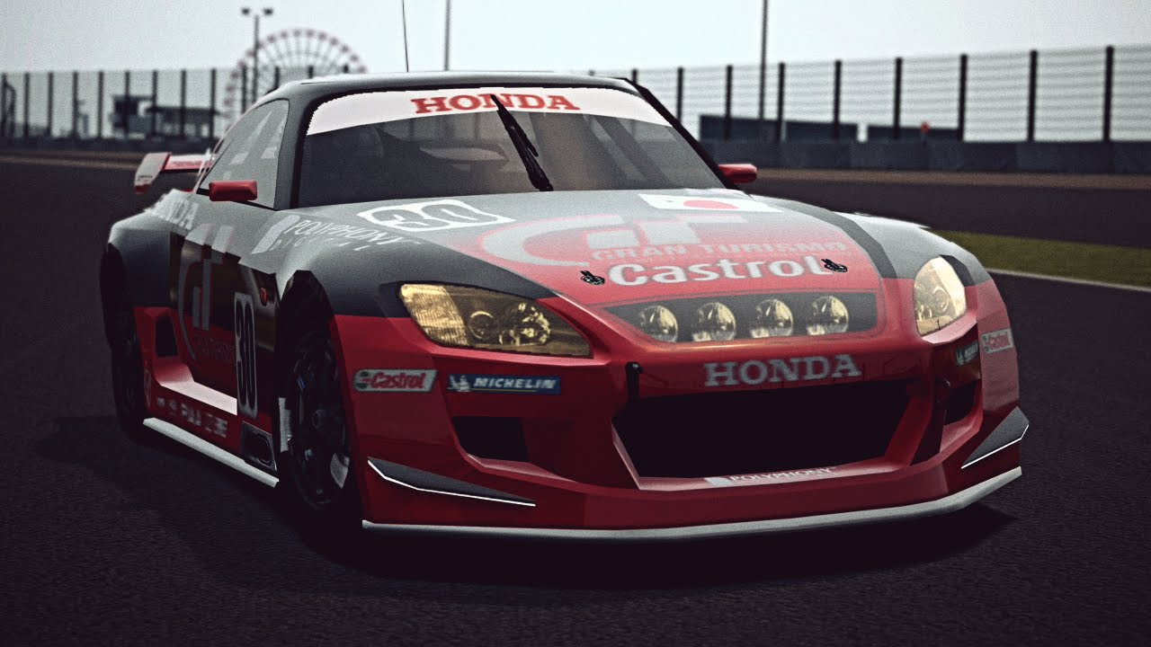 Gt6 Honda S2000 Lm Race Car Exhaust Video You