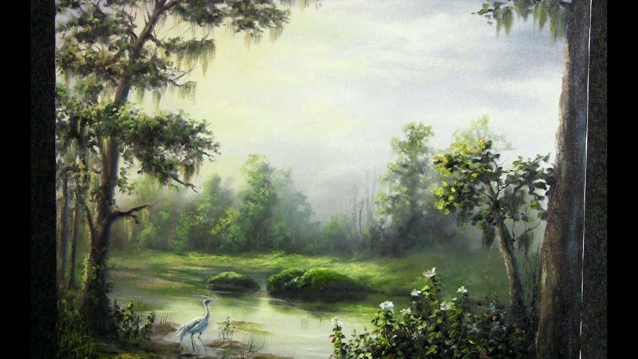 How To Paint Misty Scenes In Acrylic