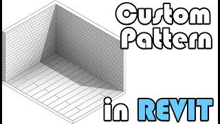 Custom Pattern\hatch In Revit