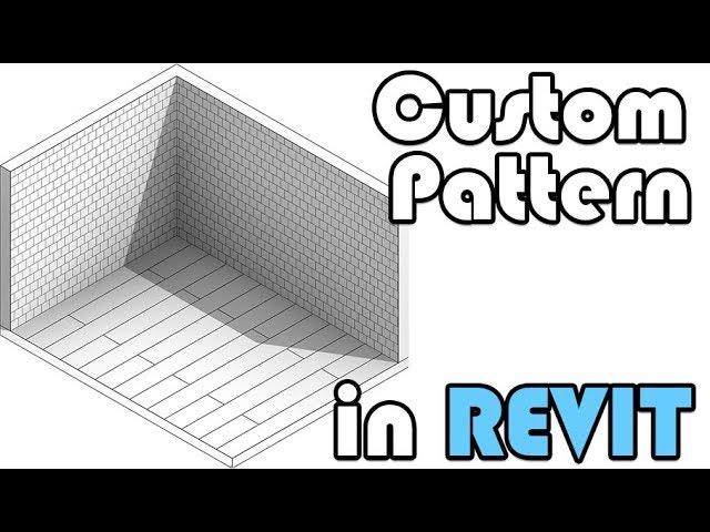 Custom Pattern Hatch In Revit Youtube