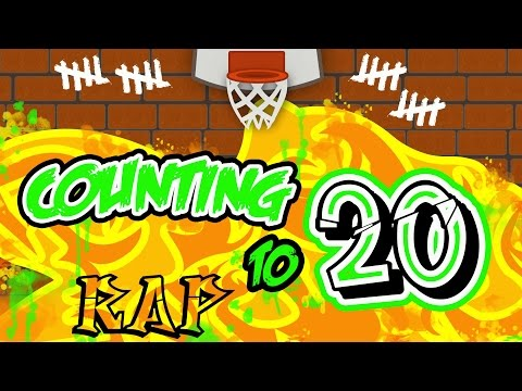 Counting to 20 Rap  Learning to Count  Counting Rap to 20  Kids Rap Songs