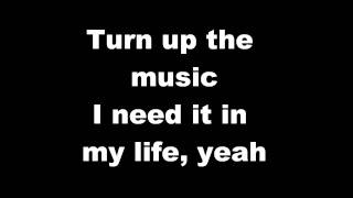 Chris Brown - Turn Up The Music [karaoke/instrumental] HQ