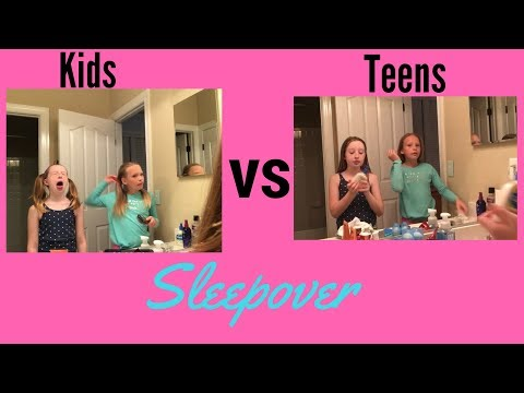 Fun Slumber Party Suggestions for Tweens and teenagers Women