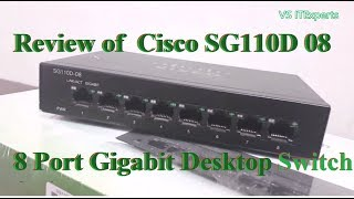 Cisco SG110D-08 | 8 Port Gigabit Desktop Switch Review