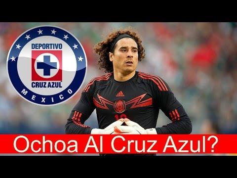 Guillermo Ochoa Habla De Su Llegada A CRUZ AZUL
