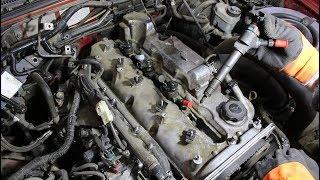 Регулировка клапанов на Ford Ranger 2,5 TURBO Форд Рейнджер 2007 года  1часть