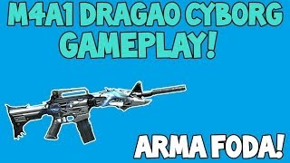 [CF/AL] M4A1-Dragão Cyborg [VIP] - Gameplay